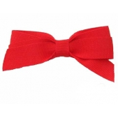 17mm Boutique Bow Red