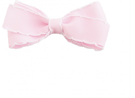 25mm Boutique Bow Vintage Stitch Pink