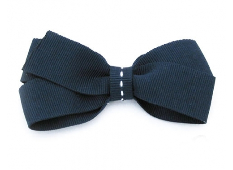 25mm Boutique Bow Navy