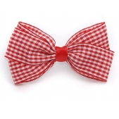25mm Boutique Bow Red Gingham