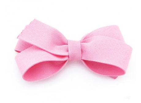 25mm Boutique Bow Pink