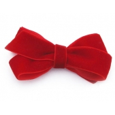 22mm Boutique Bow Red Velvet