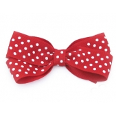 25mm Boutique Bow Red Spot