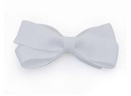 25mm Boutique Bow White