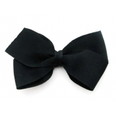 37mm Boutique Bow Black