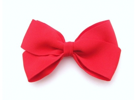 37mm Boutique Bow Red
