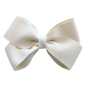 37mm Boutique Bow Cream