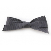 9mm Boutique Bow Dark Grey