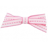 9mm Boutique Bow Hot Pink Stitch