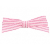 9mm Boutique Bow Pink Stripe