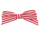 9mm Boutique Bow Red Stripe