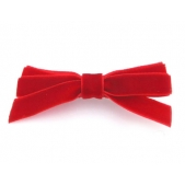 9mm Boutique Bow Red Velvet