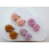 Pom Pom Clips (Set of 2)