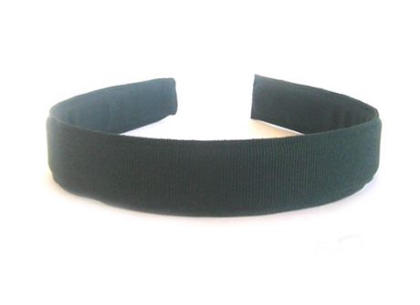 25mm Headband Dark Green