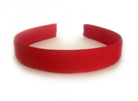25mm Headband  Red