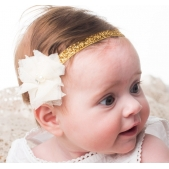 Tulle Flower Headband Ivory