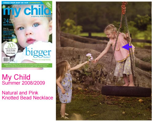 OSCARBLUE in the media - my child magazine
